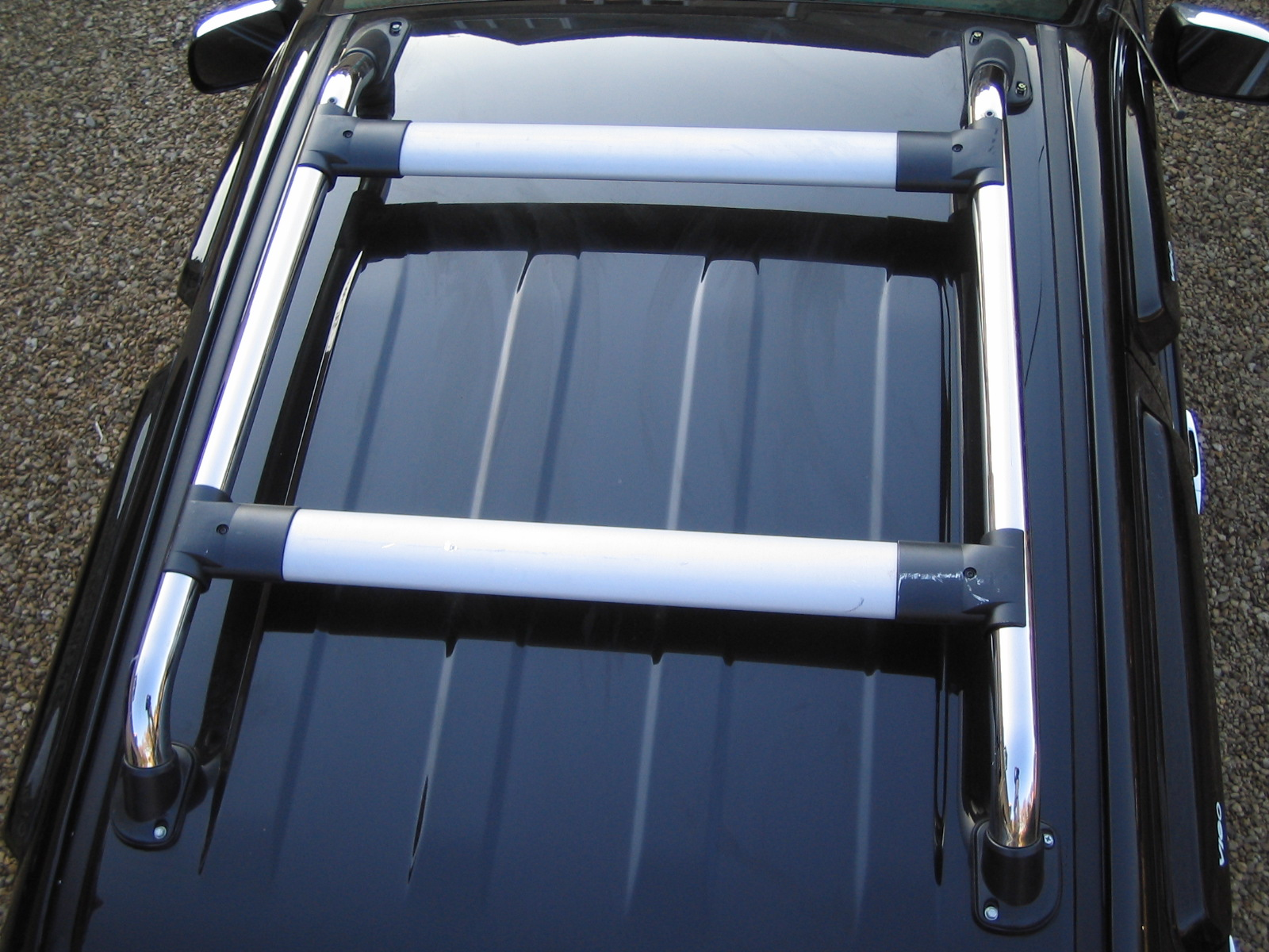 Cross Bar Kit For Toyota Hilux Vigo Mk6 Roof Rack New Uk