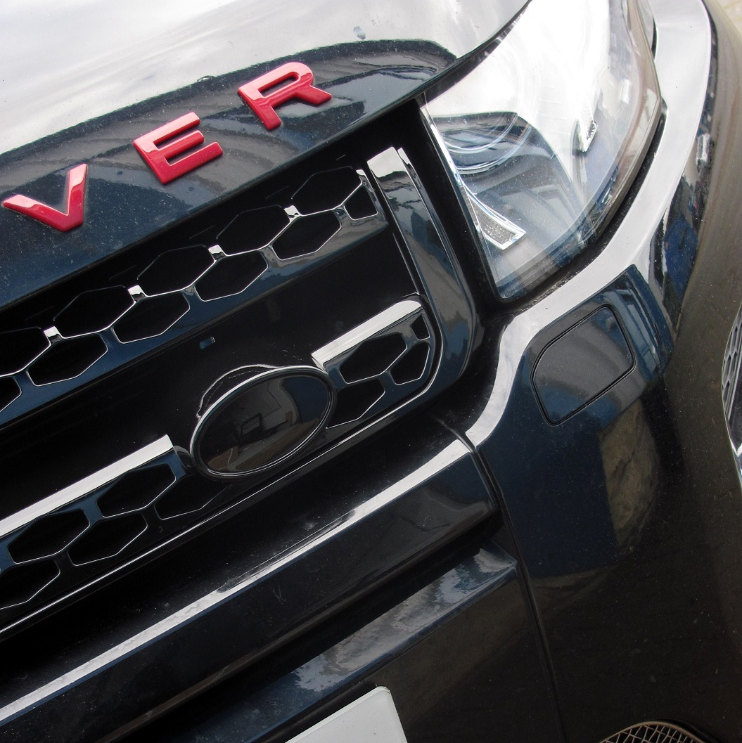 Used 2014 Land Rover Range Rover Evoque Pure Plus For Sale: Facelift Gloss Black Front Grille For Range Rover Evoque