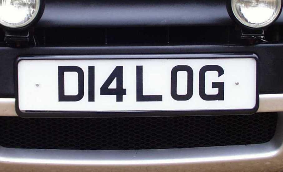Car Registration Plates >> Black number plate surround rectangular wrap frame mount registration plate+tape