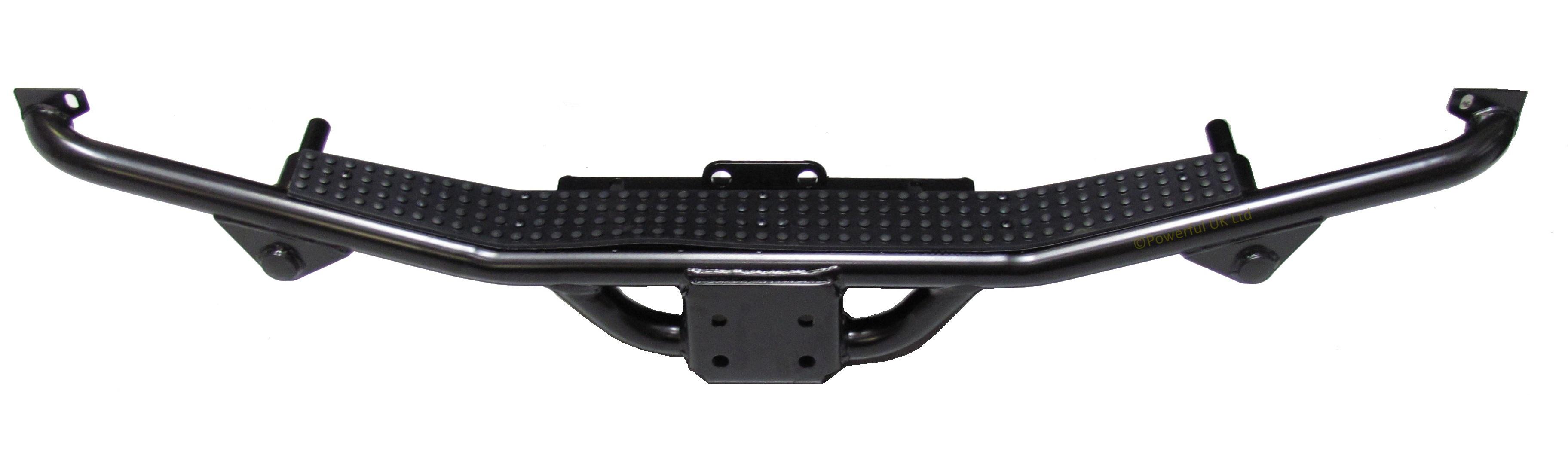 Deployed Side Steps For Range Rover Genuine Accessory: Rear Tow Bar Step Bumper For Land Rover Defender 110 SVX