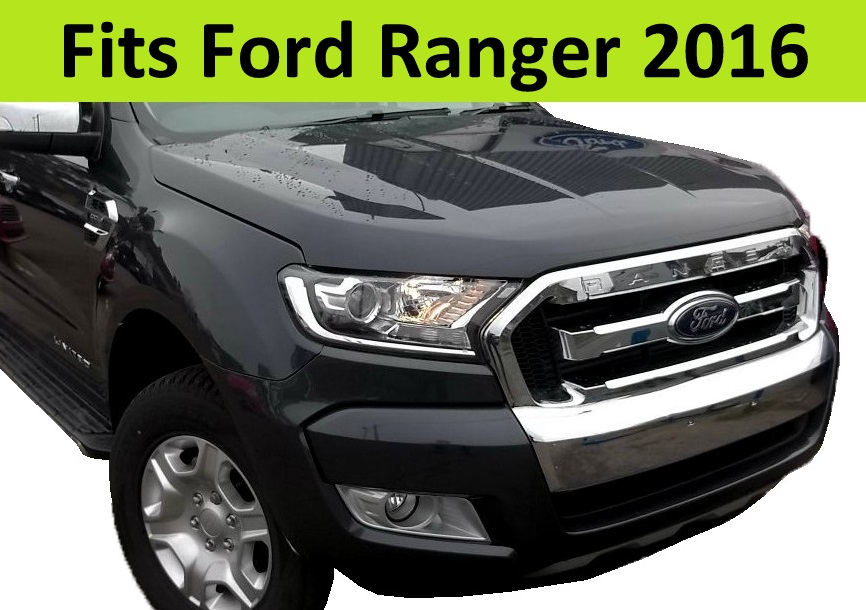 chrome headlight surrounds covers for ford ranger headlamp. Black Bedroom Furniture Sets. Home Design Ideas