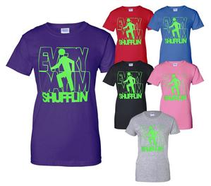 LMFAO ~ Everyday I'm Shufflin ~ Mens/Ladies T-Shirt  In 6 Colours ~ Size S-XXL