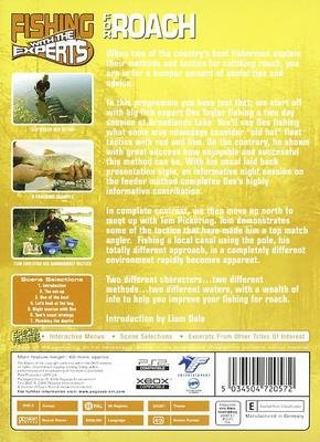 ROACH Fishing With The Experts  NEW & SEALED DVD