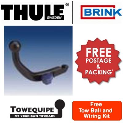 Towbar Brink Detach Peugeot 406 Saloon 95 To 04 (B278700)