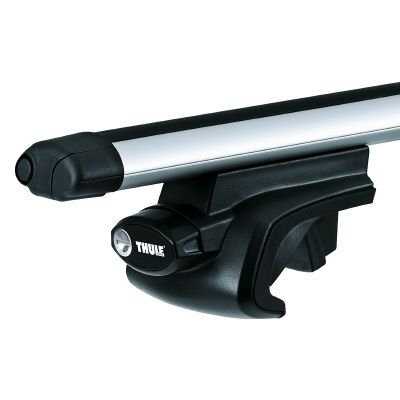 thule aluminium aero roof bars rails rack fits ford focus. Black Bedroom Furniture Sets. Home Design Ideas