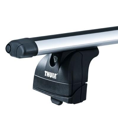 Thule 753 Foot Pack Amp Thule 869 Roof Bars Rails Rack Free