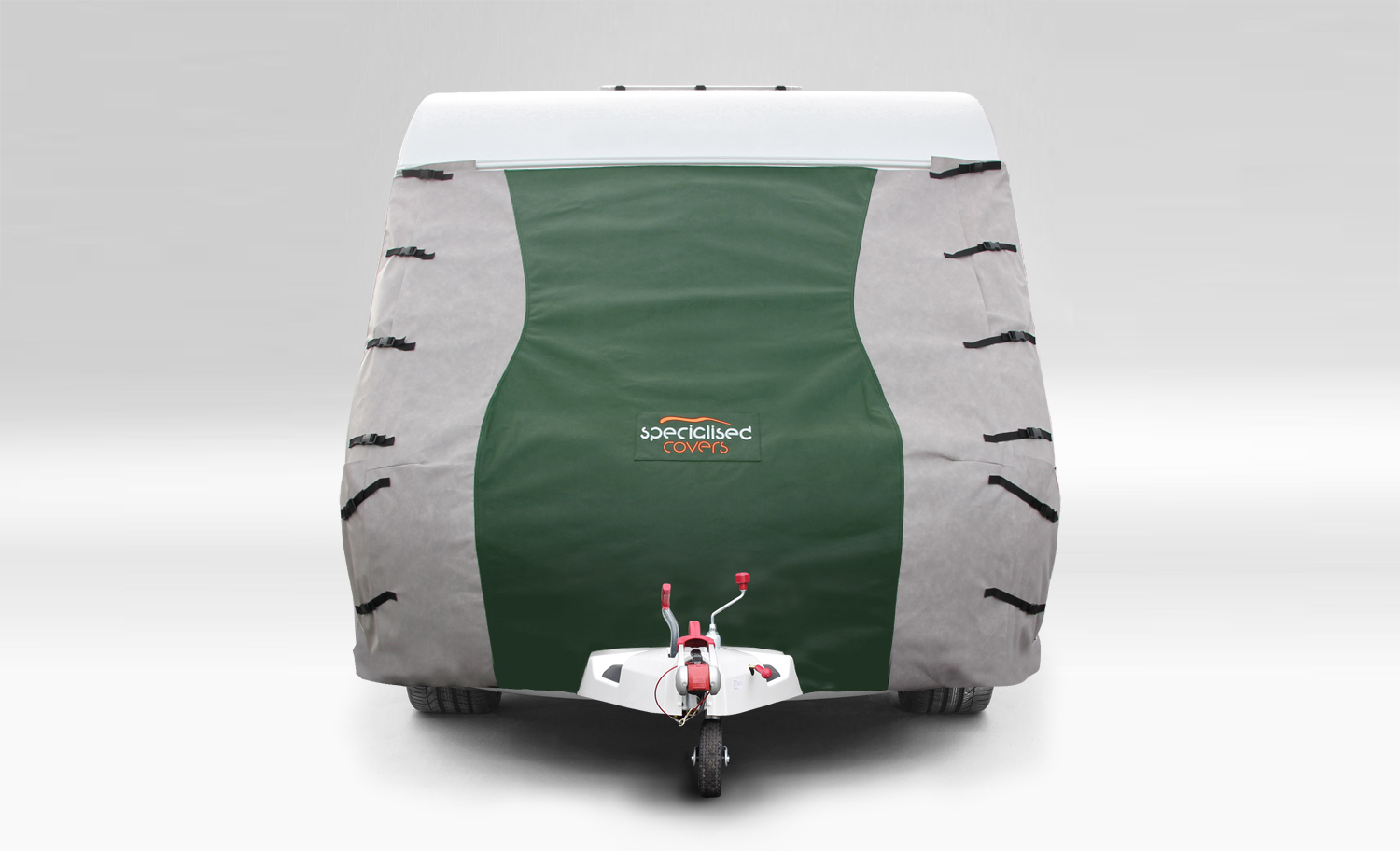 Caravan Front Towing Cover Protector Green