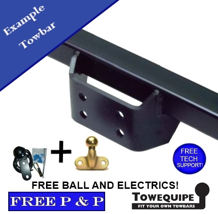 ford territory tow bar fitting instructions