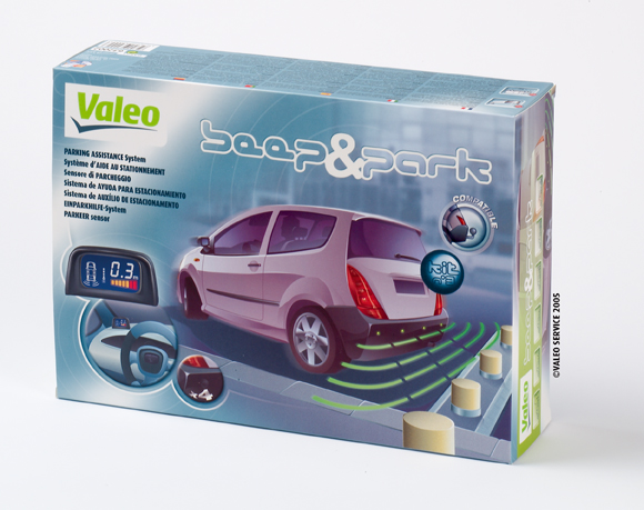 Valeo Beep Park Display Rear Reversing Parking Sensor B