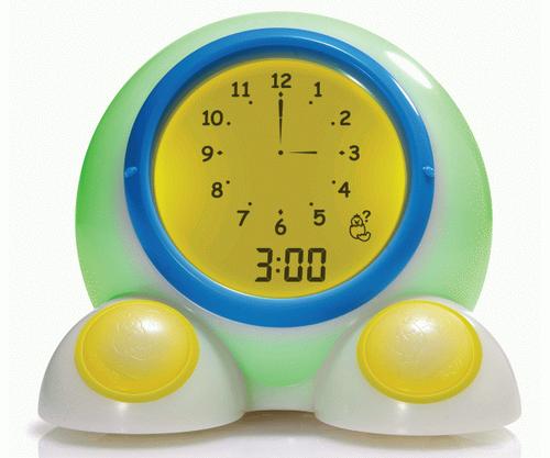 Onaroo Teach Me Time Toddler Child Kid Timekeeping Alarm Clock Night Light Bn