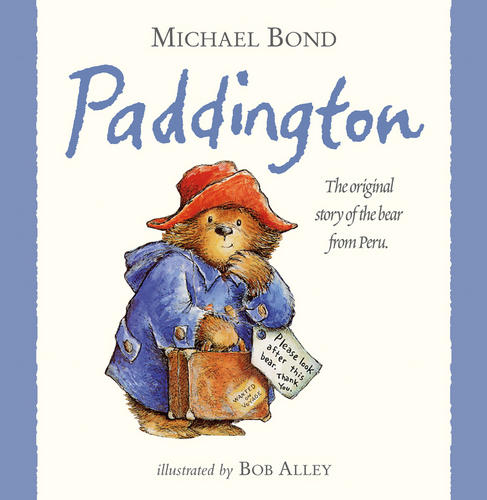 Rainbow-Designs-PADDINGTON-BEAR-STORYBOOK-Baby-Toddler-Nursery-Gift-Book-BN