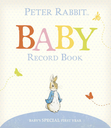 Rainbow-Designs-PETER-RABBIT-BABY-RECORD-BOOK-Baby-Toddler-Gift-Keepsake-BN