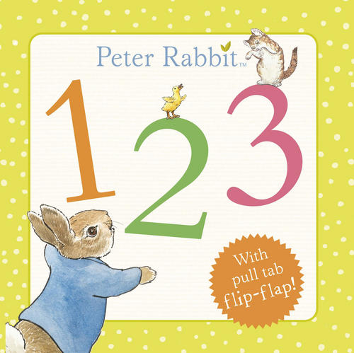 Rainbow-Designs-PETER-RABBIT-123-BOOK-Baby-Toddler-Educational-Toy-Gift-BN