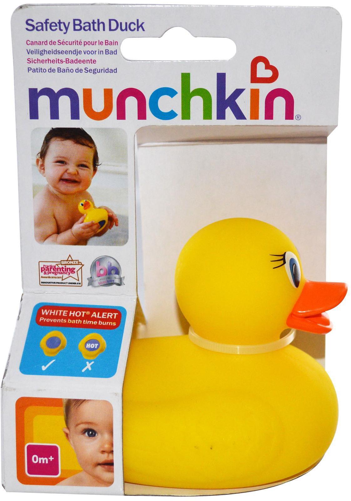 Indicador temperatura pato blanco calor seguridad ba o beb ba o del beb nuevo ebay - Temperatura agua bano bebe ...