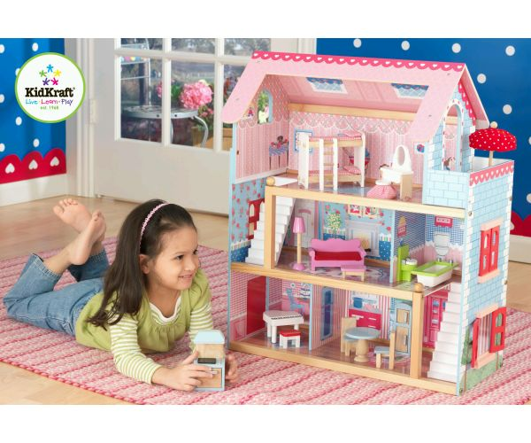 KidKraft Chelsea Doll Cottage - Kids Activity Toy Preview