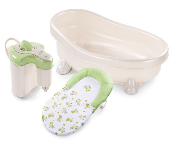 Baby bath tub spa life more simply spa baby eco european for Home spa brand towels