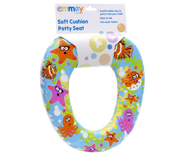 Emmay Care Soft Cushion Potty Seat (Coloured Sea Scenes) Preview