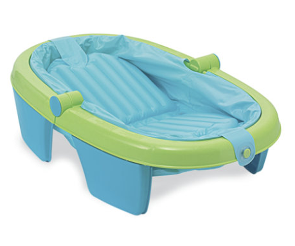 summer infant newborn to toddler fold away baby bath child travel tub bnib. Black Bedroom Furniture Sets. Home Design Ideas