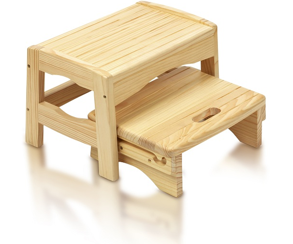 Safety 1st WOODEN STEP STOOL Baby/Child Bathroom/Potty ...