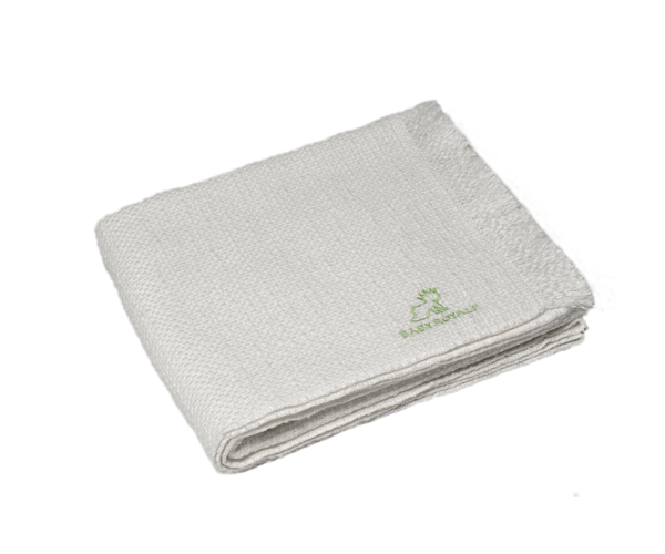 BabyRoyale Bamboo Baby Blanket - Off White Preview 1