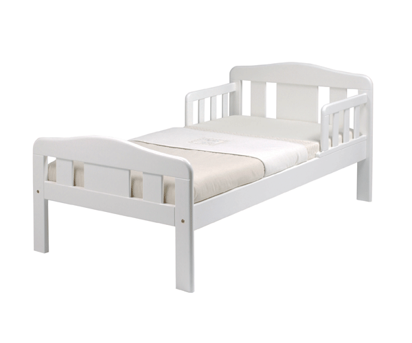 East Coast MORSTON TODDLER JUNIOR BED WHITE FIRST BED