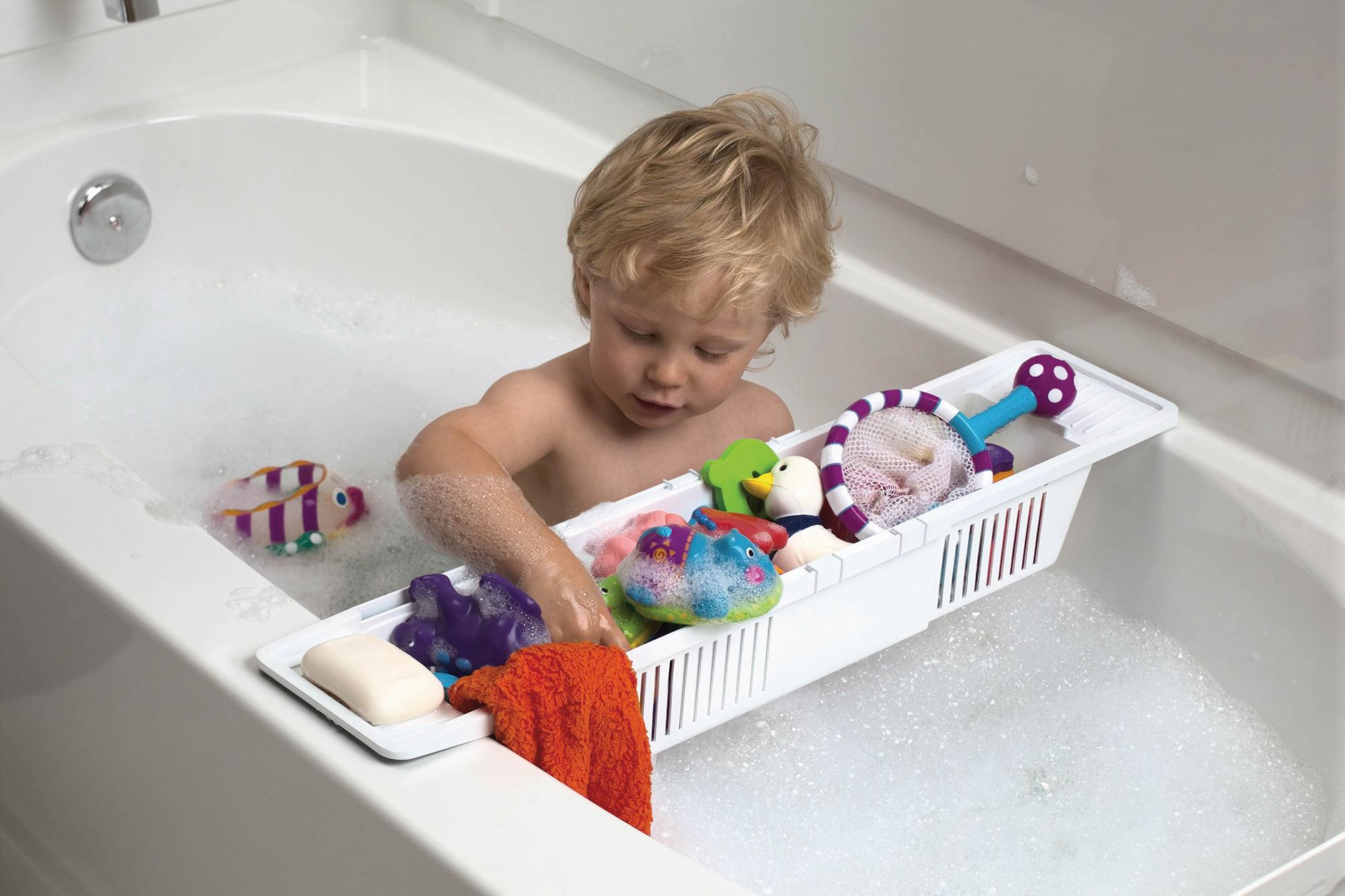 baby dan paniers jouets pour baignoire rangement salle de bain enfant neuf. Black Bedroom Furniture Sets. Home Design Ideas