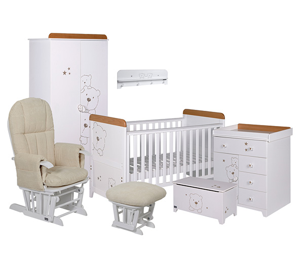 Tutti bambini 3 bears 7 piece nursery furniture set nursery furniture bedroom bn ebay - Baby bedroom furniture sets ...