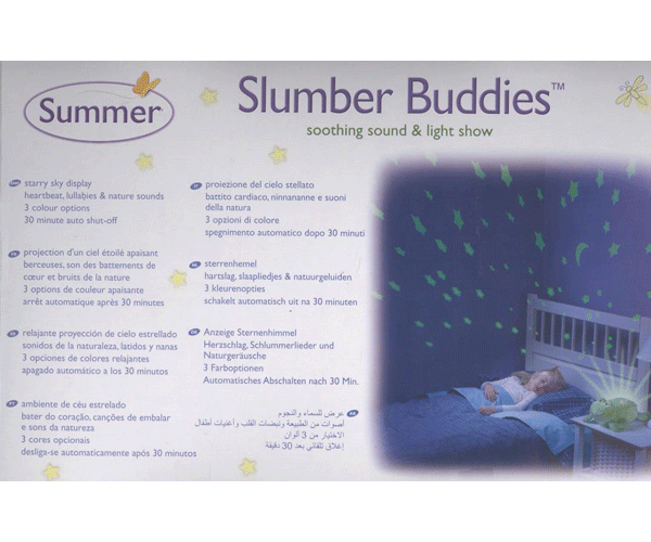 summer infant slumber buddies instructions