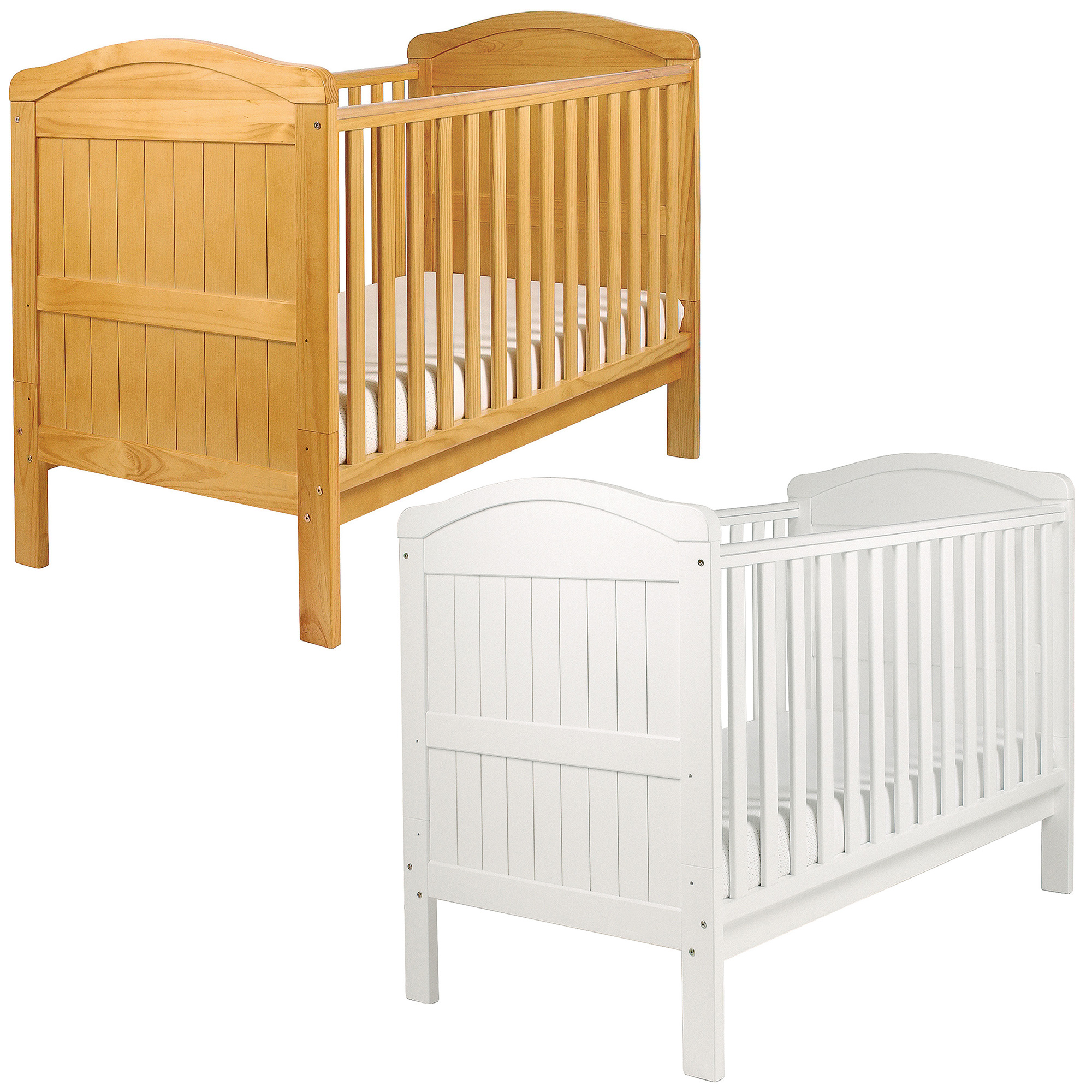 East Coast Country Cot Bed Solid Pine Baby Child Toddler