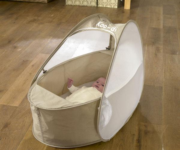koo di couffin de voyage avec moustiquaire berceau confort sommeil enfant neuf ebay. Black Bedroom Furniture Sets. Home Design Ideas