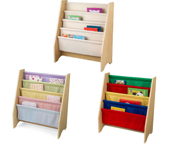 Kidkraft Sling Book Shelf Children 039 S Kids Storage Tidy