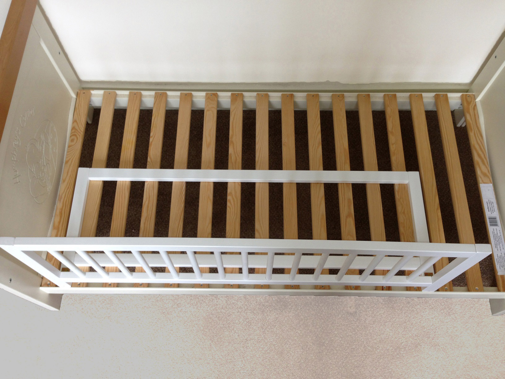Baby Dan Wooden Bed Guard Rail Baby Child Toddler Kids