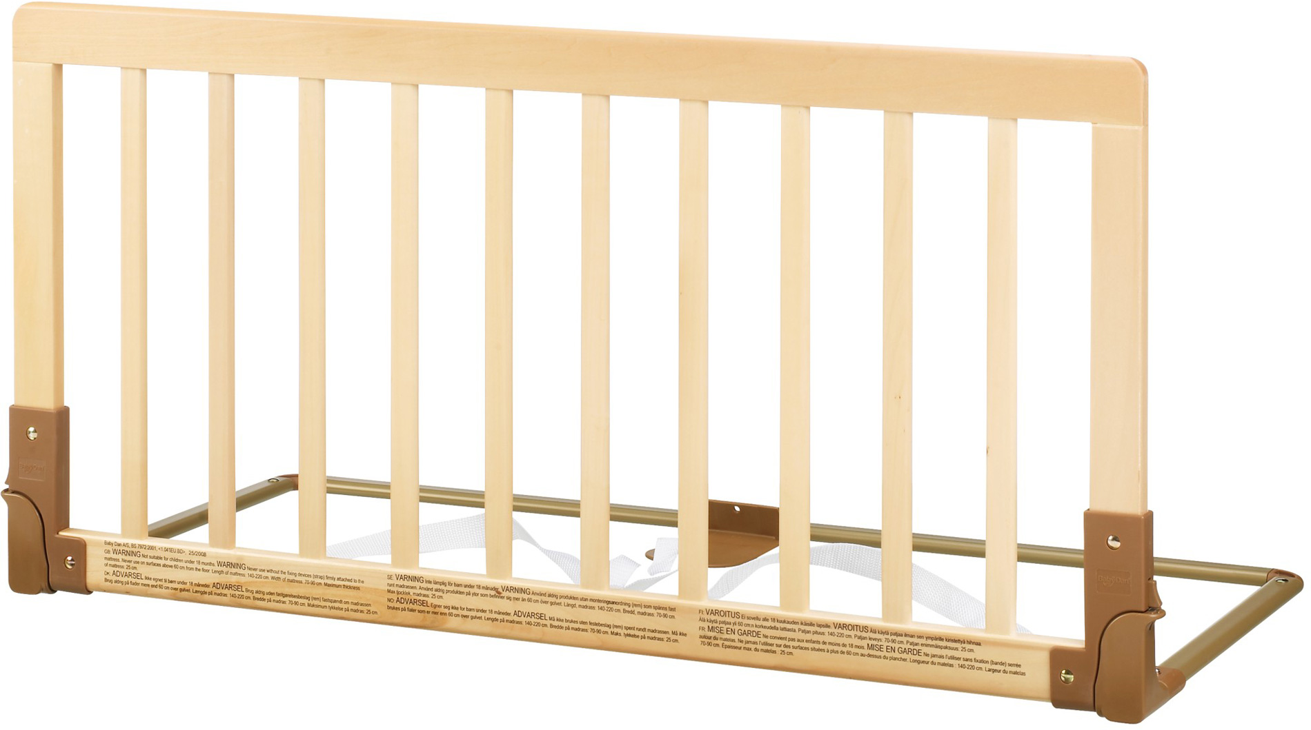 Wonderful image of Baby Dan WOODEN BED GUARD/RAIL Child/Toddler/Kids Bedding Safety  with #A57326 color and 1900x1059 pixels