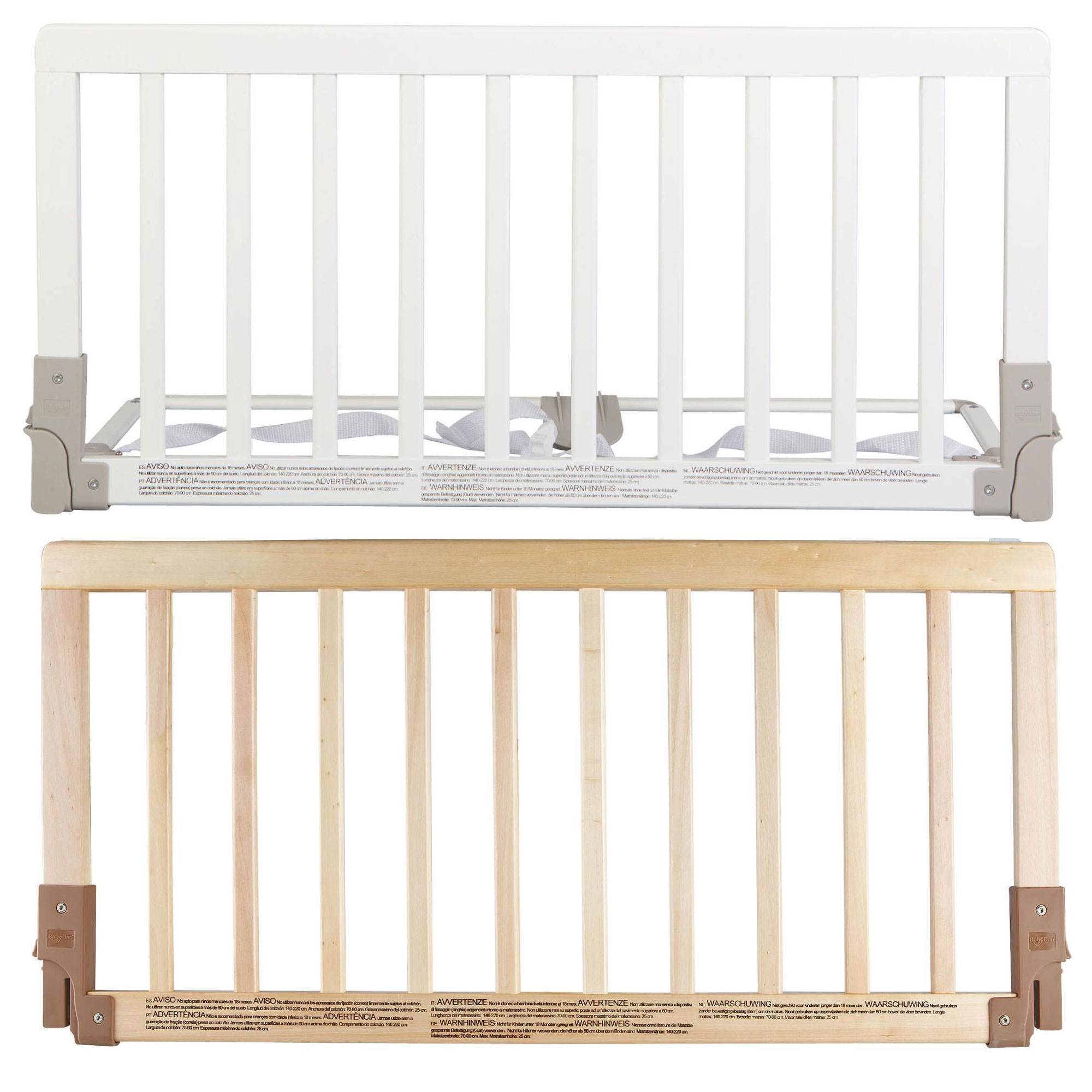 Baby Dan WOODEN BED GUARD RAIL Child Toddler Kids Bedding