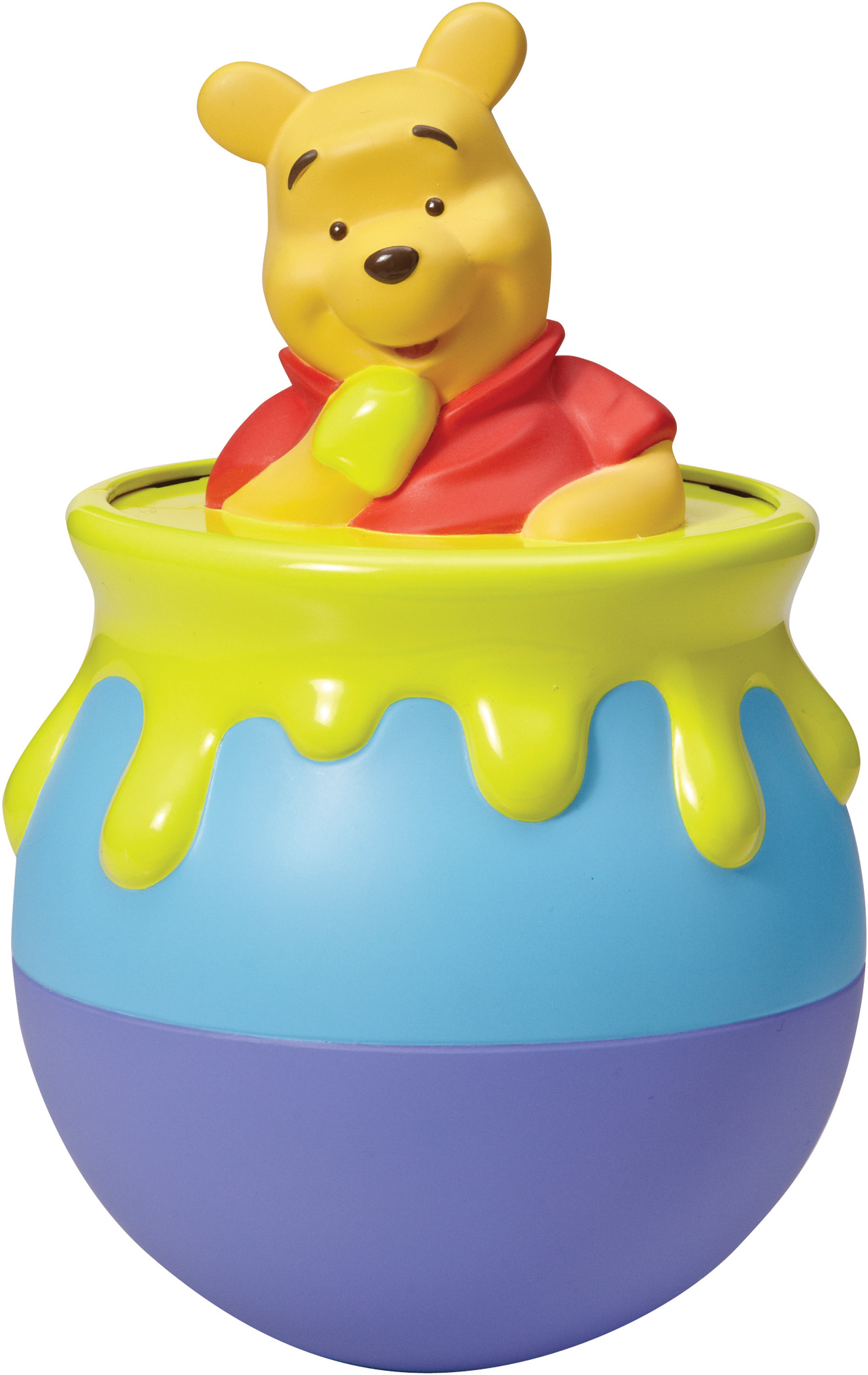 Tomy Winnie The Pooh Roly Poly Pooh Chime Toy Sounds Gift