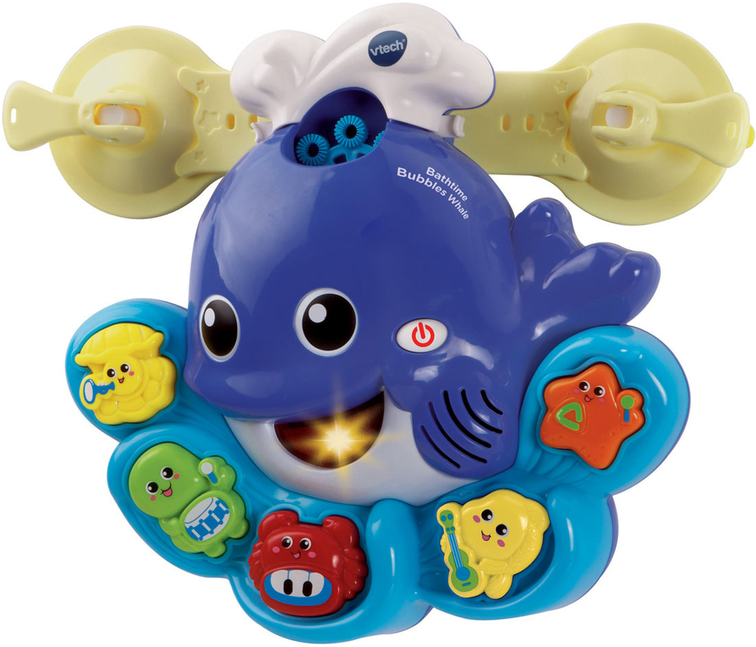 Vtech BATH TIME BUBBLES WHALE Baby/Toddler Gift Bathtime ...