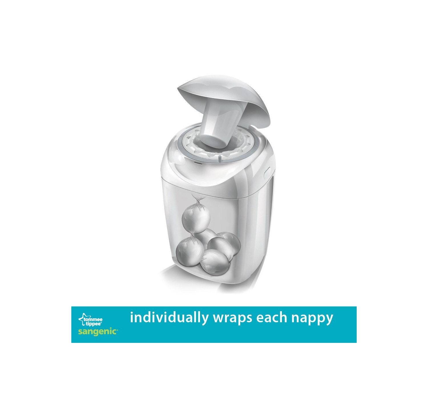 tommee tippee nappy wrapper instructions