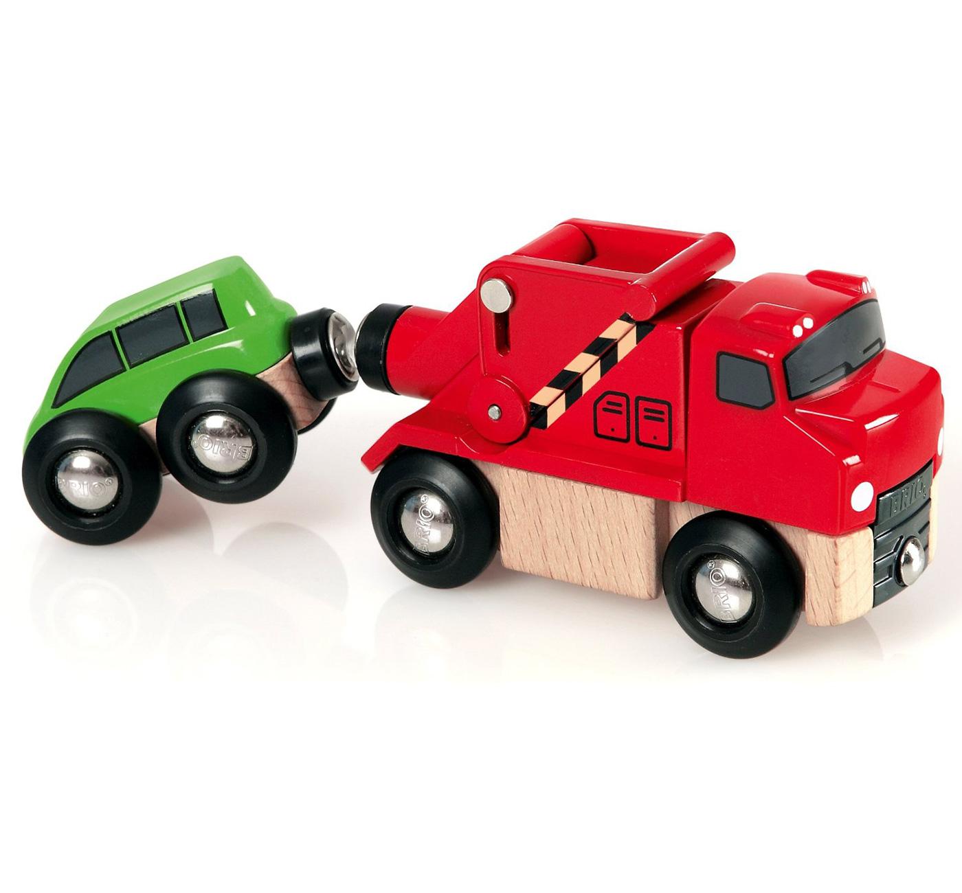 Brio abschleppfahrzeug kind baby spielzeug eisenbahn auto