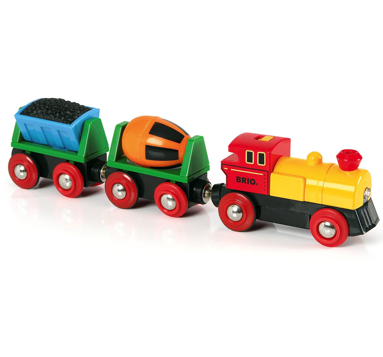 brio battery operated action train child nursery toy. Black Bedroom Furniture Sets. Home Design Ideas