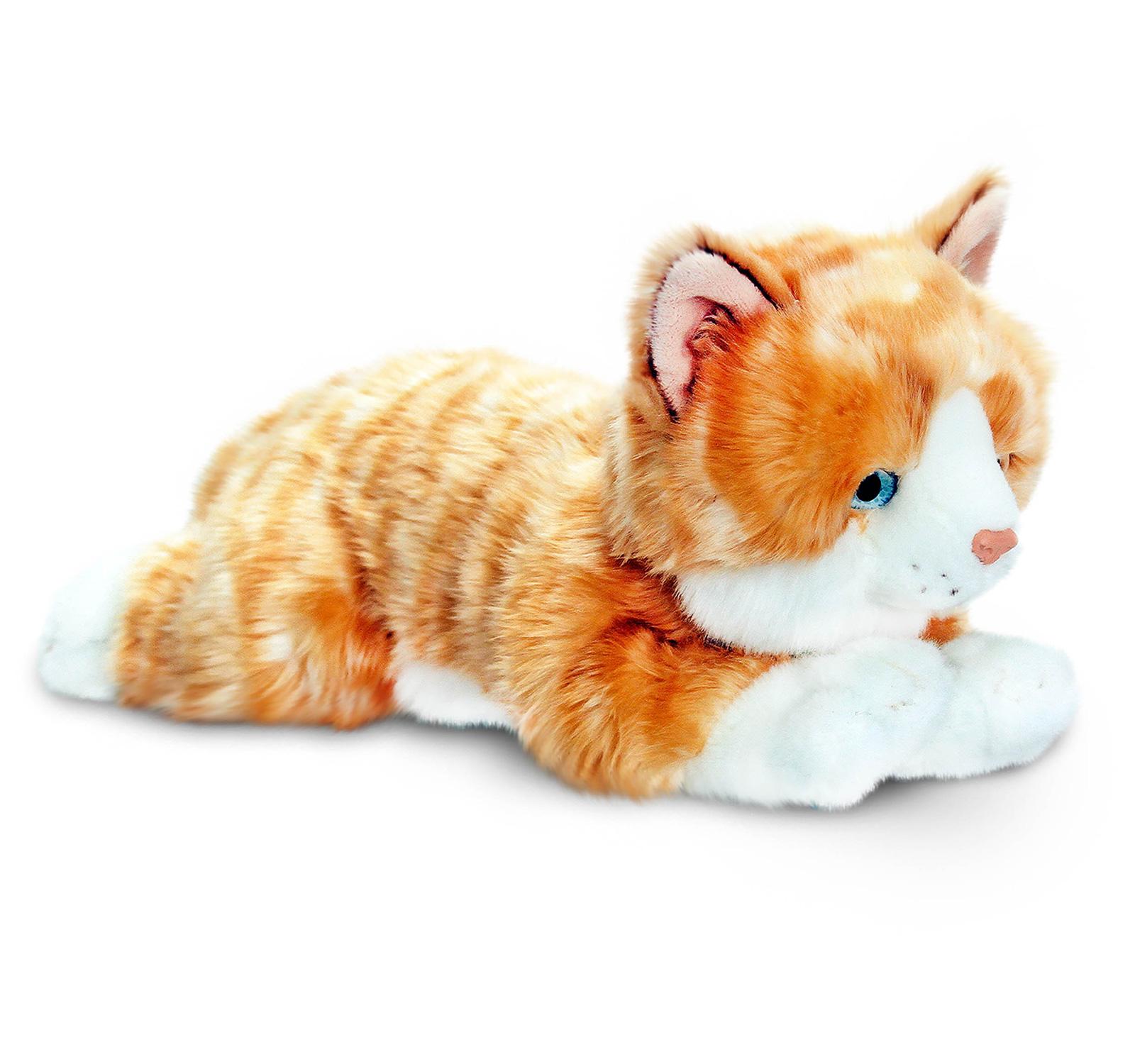keel toys amber ginger cat baby toddler kids animal soft. Black Bedroom Furniture Sets. Home Design Ideas