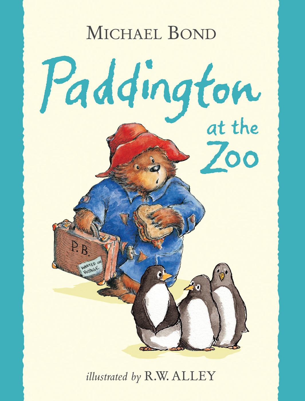 Rainbow Designs PADDINGTON AT THE ZOO Baby/Toddler Nursery Gift Story Book - BN