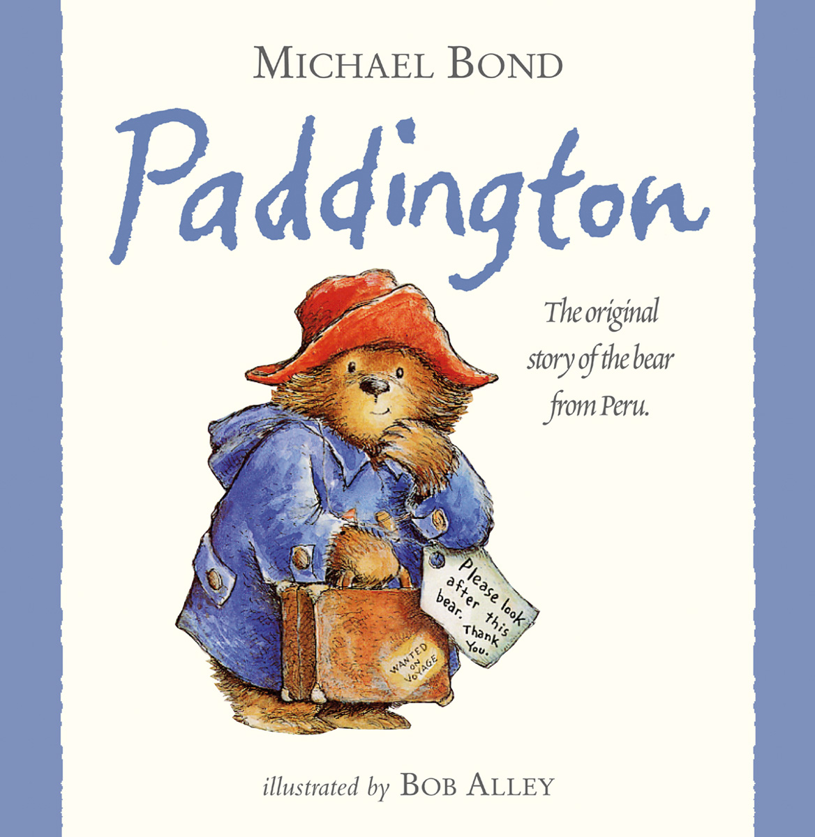 Rainbow Designs PADDINGTON BEAR STORYBOOK Baby/Toddler Nursery Gift Book - BN