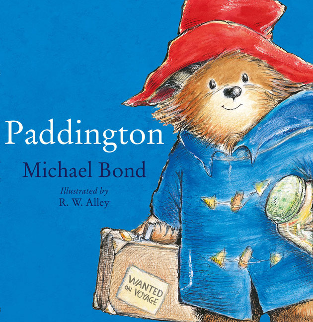 Rainbow Designs PADDINGTON BEAR STORYBOOK Baby/Toddler Nursery Gift Book - BN