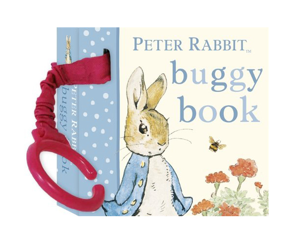Rainbow Designs PETER RABBIT ATTACHABLE BUGGY BOOK Baby/Toddler Travel - BN