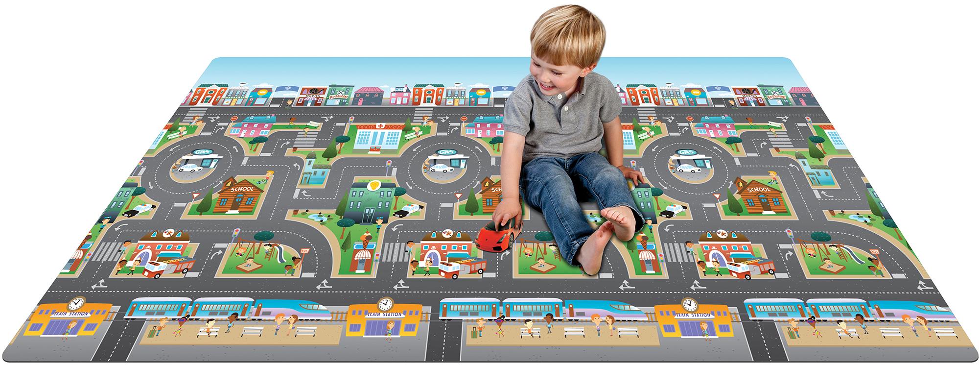 prince lionheart play mat city  abcdinosaurfarm toddlerchild  - thumbnail