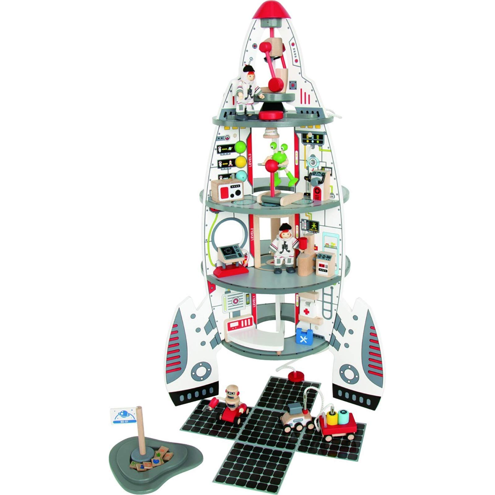 Hape DISCOVERY SPACE CENTRE Toddler/Child Wooden Activity ...