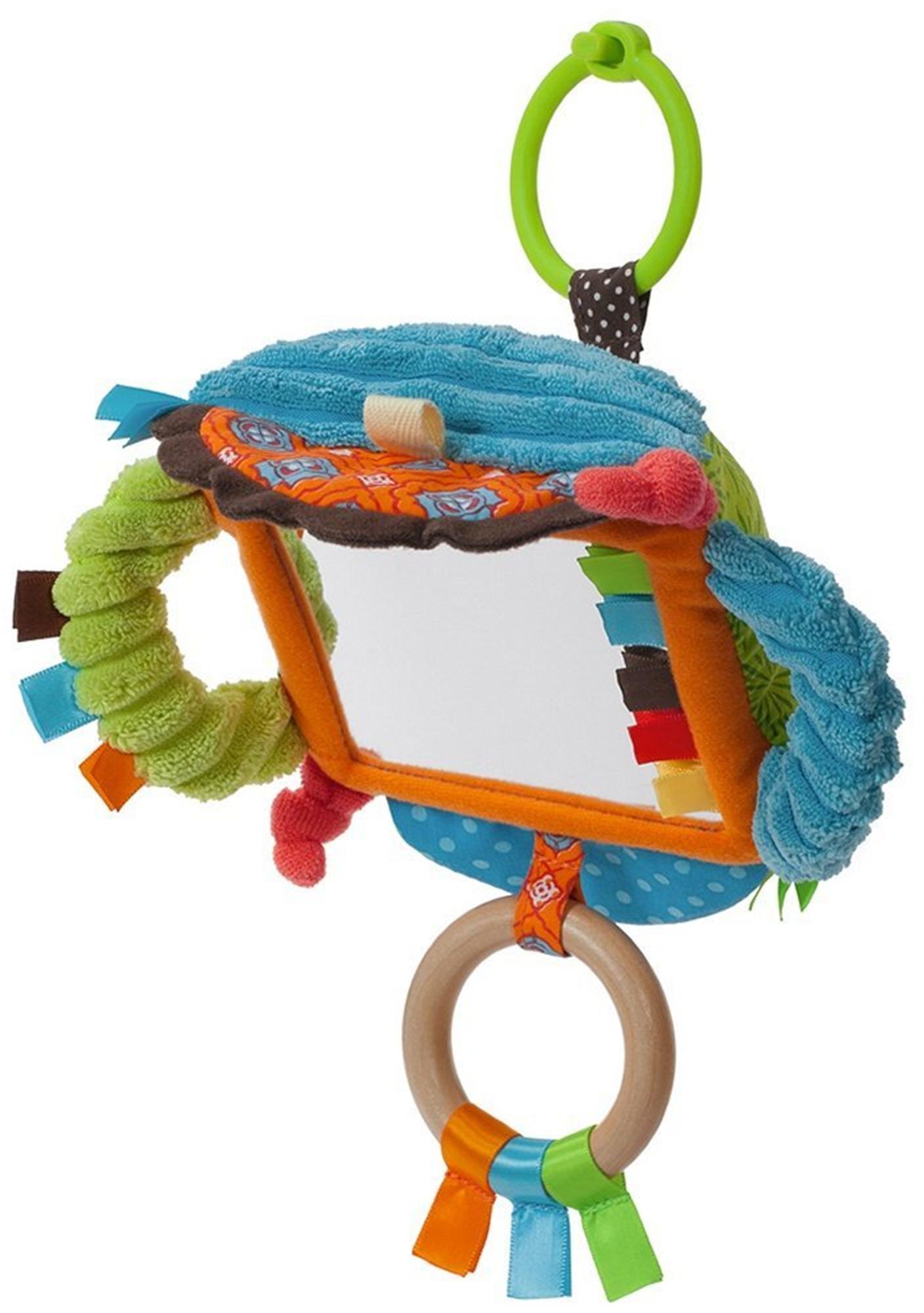 infantino go gaga mirror baby toddler clip on pram carseat cot toy gift bnip ebay. Black Bedroom Furniture Sets. Home Design Ideas