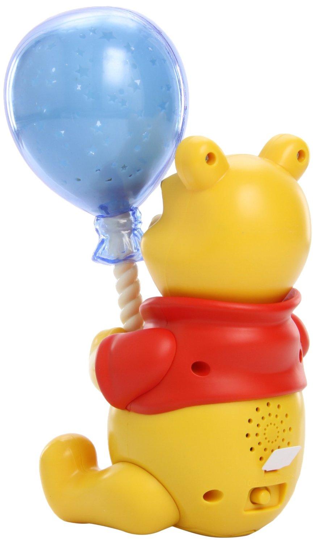 tomy winnie the pooh ballon lichtspiel baby musik schlafhilfe nachtlicht neu. Black Bedroom Furniture Sets. Home Design Ideas