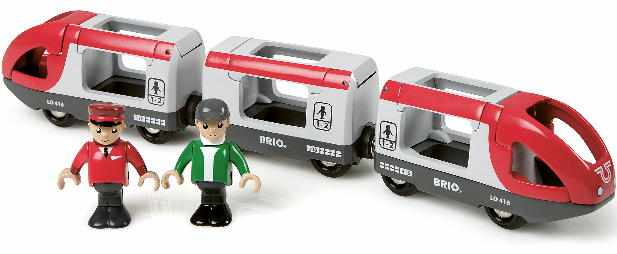 brio travel train baby toddler child wooden carraiges people toy train bn ebay. Black Bedroom Furniture Sets. Home Design Ideas