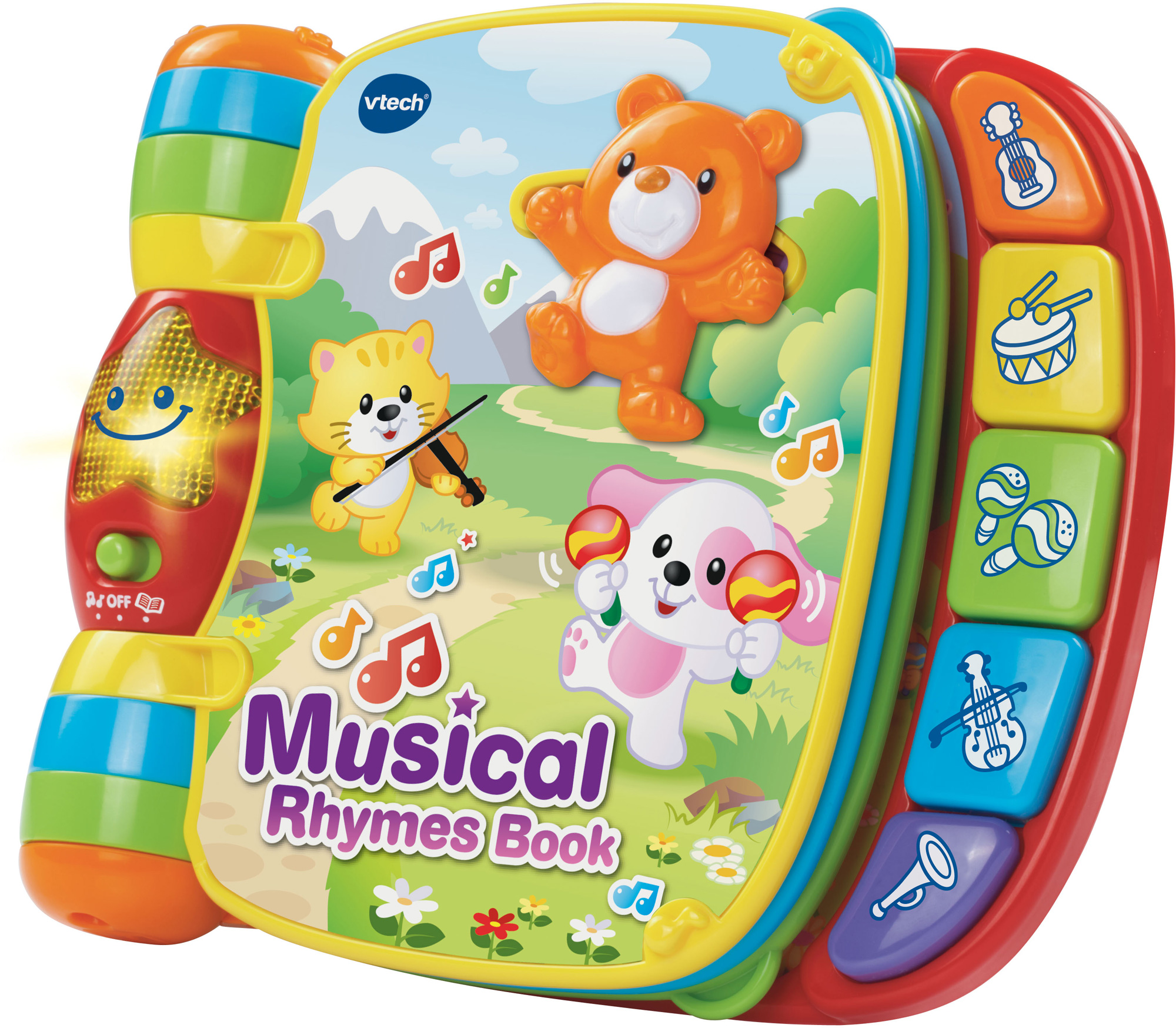 Vtech MUSICAL RHYMES BOOK Baby/Toddler Nursery Rhymes ...